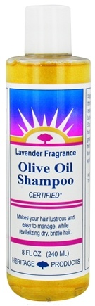 DROPPED: Heritage - Olive Oil Shampoo Lavender Fragrance - 8 oz.