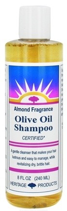 DROPPED: Heritage - Olive Oil Shampoo Almond Fragrance - 8 oz. CLEARANCE PRICED