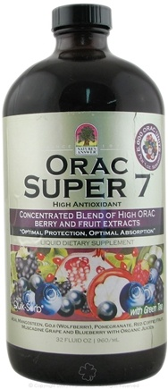 DROPPED: Nature's Answer - ORAC Super 7 Liquid High Antioxidant - 16 oz. CLEARANCE PRICED