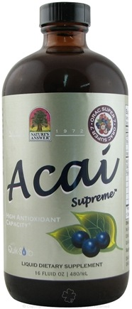 DROPPED: Nature's Answer - Acai Supreme Liquid Antioxidant Supplement - 16 oz.