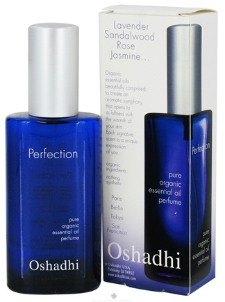DROPPED: Oshadhi - Perfection Pure Organic Essential Oil Perfume - 50 ml.