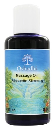 Oshadhi - Professional Aromatherapy Therapeutic Organic Massage Oil Silhouette Slimming - 100 ml.
