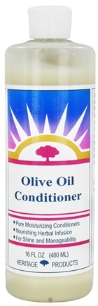 DROPPED: Heritage - Olive Oil Conditioner - 16 oz. CLEARANCE PRICED