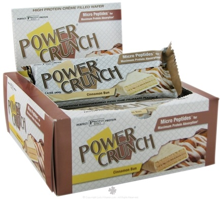 DROPPED: BioNutritional Research Group - Power Crunch Wafer Cinnamon Bun - 1.4 oz.