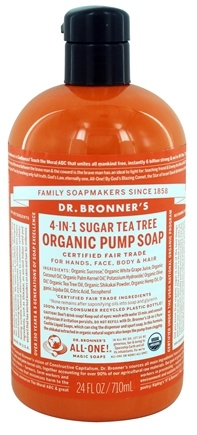 Dr. Bronners - Magic Shikakai Soap Organic Tea Tree - 24 oz.