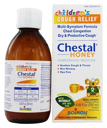 DROPPED: Boiron - Chestal Honey For Children Homeopathic Cough Syrup - 8.45 oz.