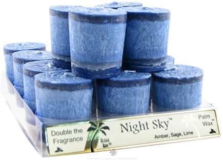 DROPPED: Aloha Bay - Votive Candle Night Sky - 2 oz. CLEARANCE PRICED