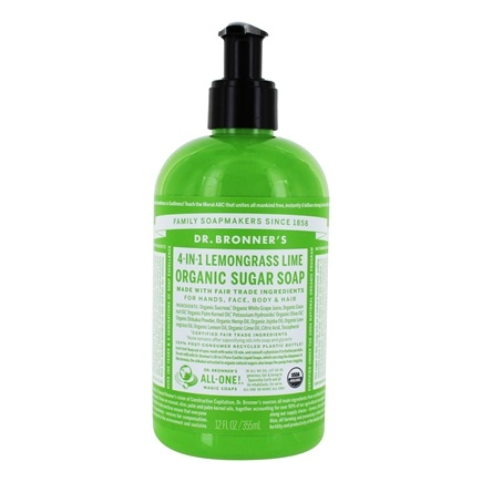 Dr. Bronners - Magic Shikakai Soap Organic Lemongrass-Lime - 12 oz.
