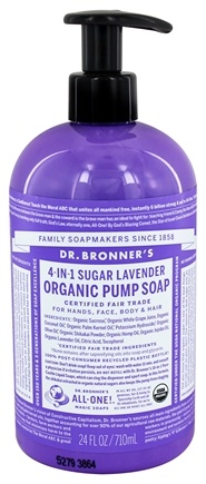 Dr. Bronners - Magic Shikakai Soap Organic Lavender - 24 oz.