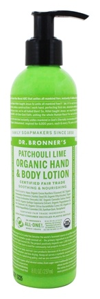 Dr. Bronners - Magic Organic Lotion Patchouli Lime - 8 oz.
