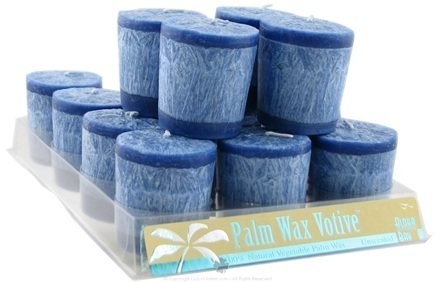 DROPPED: Aloha Bay - Votive Candle Unscented Blue - 2 oz. CLEARANCE PRICED