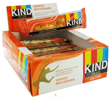 DROPPED: Kind Bar - Plus Calcium Nutrition Bar Mango Macadamia - 1.4 oz.