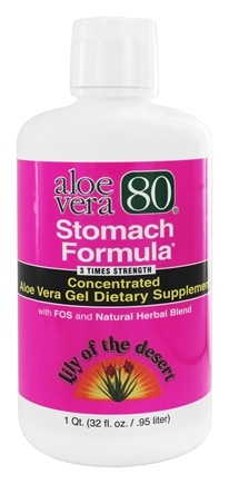 Lily Of The Desert - Aloe Vera 80 Stomach Formula - 32 oz.