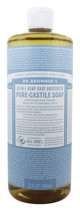 Dr. Bronners - Magic Pure-Castile Soap Baby-Mild - 32 oz.