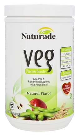 Naturade - Veg Protein Booster Natural Flavor - 13.7 oz.