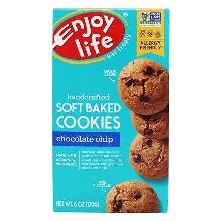 DROPPED: Enjoy Life Foods - Chewy Chocolate Chip Cookies - 6 oz.