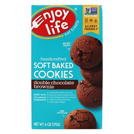 Enjoy Life Foods - Double Chocolate Brownie Cookies - 6 oz.