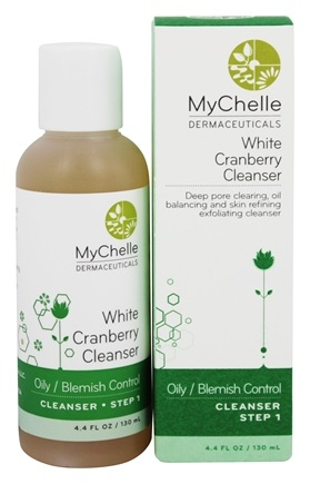 DROPPED: MyChelle Dermaceuticals - White Cranberry Cleanser for Acne Oily Skin - 4.4 oz.