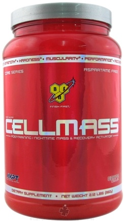 DROPPED: BSN - Cellmass Post-Training Recovery Activator Actic Berry Blast - 2.12 lbs.