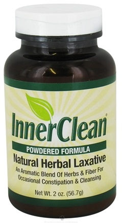 DROPPED: At Last Naturals - InnerClean Natural Herbal Laxative Powdered Formula - 2 oz. CLEARANCE PRICED