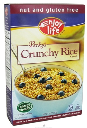 DROPPED: Enjoy Life Foods - Perky's Crunchy Rice Cereal - 10 oz. (Formerly Perky's Nutty Rice Crunchy Cereal)