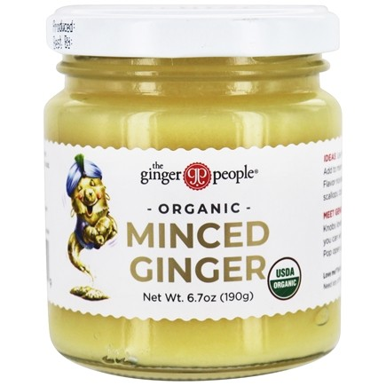 Ginger People - Pantry Essentials Minced Ginger - 6.7 oz.