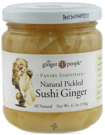 DROPPED: Ginger People - Pantry Essentials Natural Pickled Sushi Ginger - 6.7 oz.