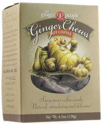 DROPPED: Ginger People - Ginger Chews Hot Coffee Flavor - 4.5 oz.
