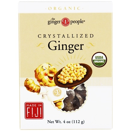 Ginger People - Organic Crystallized Ginger - 4 oz.