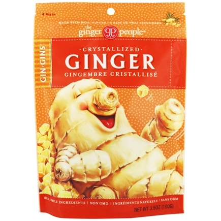 Ginger People - Crystallized Ginger - 3.5 oz.