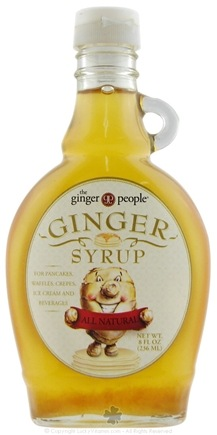 DROPPED: Ginger People - Ginger Syrup - 8 oz.