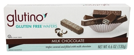 Glutino - Gluten Free Wafer Cookies Chocolate Coated - 4.6 oz.