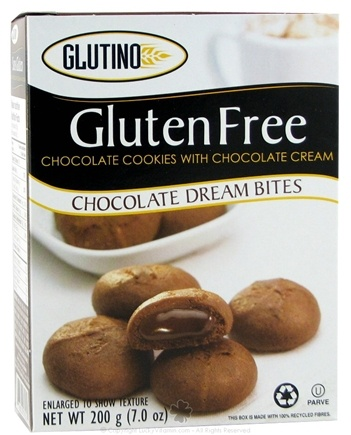 DROPPED: Glutino - Gluten Free Chocolate Dream Bites Cookies - 6.7 oz.