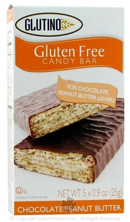 DROPPED: Glutino - Gluten Free Candy Bars Chocolate Peanut Butter - 5 Pack
