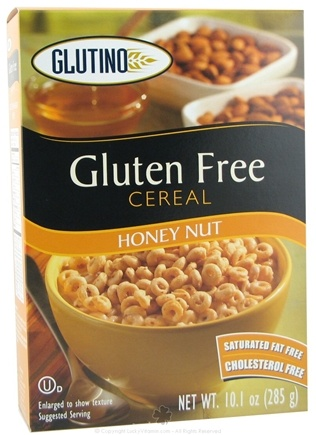 DROPPED: Glutino - Gluten Free Cereal Honey Nut - 10.1 oz. CLEARANCE PRICED