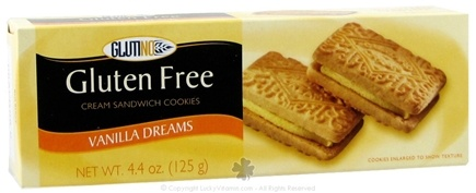 DROPPED: Glutino - Gluten Free Vanilla Dreams Cream Sandwich Cookies - 4.4 oz.