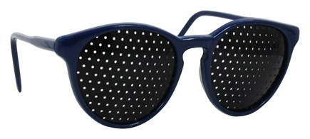 Natural Eyes - Pinhole Glasses Kids Blue