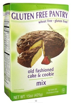 DROPPED: Glutino - Gluten Free Pantry Old Fashioned Cake & Cookie Mix - 15 oz. CLEARANCE PRICED