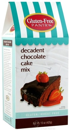 DROPPED: Glutino - Gluten Free Pantry Decadent Chocolate Cake Mix - 15 oz.