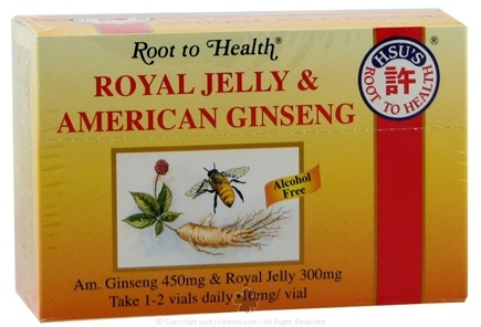 DROPPED: Root To Health - Royal Jelly & American Ginseng - 10 Vial(s) CLEARANCE PRICED