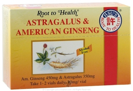 DROPPED: Root To Health - Astragalus & American Ginseng - 10 Vial(s)