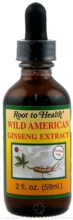 DROPPED: Root To Health - Wild American Ginseng Extract - 2 oz.