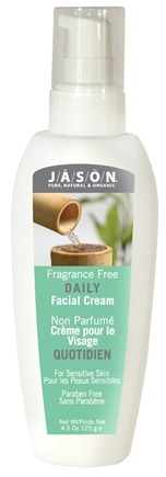 DROPPED: Jason Natural Products - Daily Facial Cream Fragrance Free - 4.5 oz.
