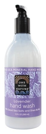 One With Nature - Dead Sea Mineral Hand Wash Lavender - 12 oz.
