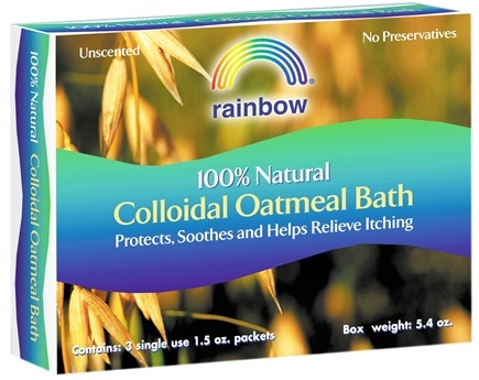 DROPPED: Rainbow Research - Colloidal Oatmeal Bath 100% Natural Unscented - 5.4 oz. CLEARANCE PRICED