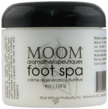 DROPPED: Moom - Aromatherapy Foot Care Cream - 4 oz. CLEARANCE PRICED