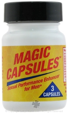 DROPPED: Sports One - Magic Capsules Sexual Performance Enhancer For Men - 3 Capsules CLEARANCE PRICED
