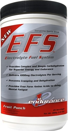 DROPPED: 1st Endurance - EFS Energizing Sports Drink Fruit Punch - 1.8 lbs. CLEARANCE PRICED
