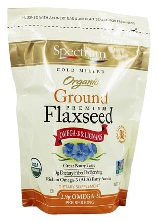 Spectrum Essentials - Organic Ground Premium Flaxseed - 14 oz.