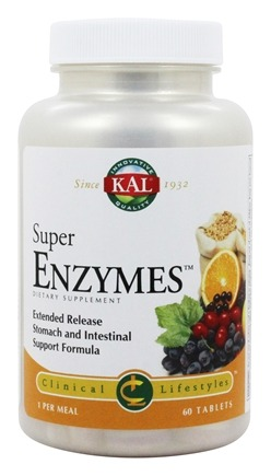 Kal - Super Enzymes - 60 Tablets